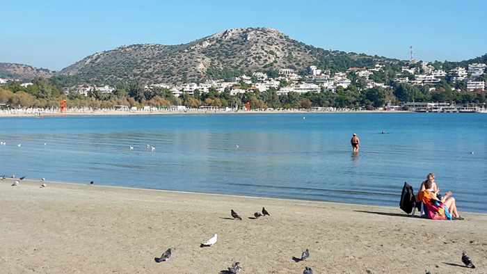 Vouliagmeni beach photo by John de Castelberg