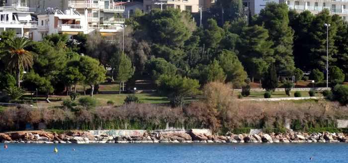 Seaside park at Vouliagmeni
