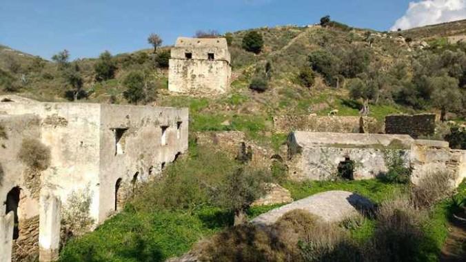 Jesuits Palace near Kalamitsia on Naxos