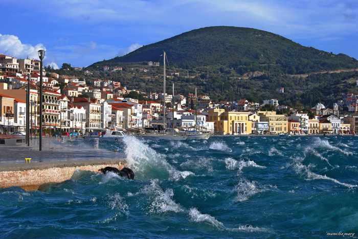 Manolis Marg photo of Samos Town