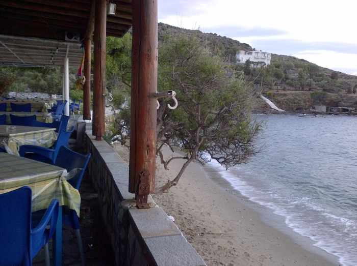Mastrozannes Restaurant veranda