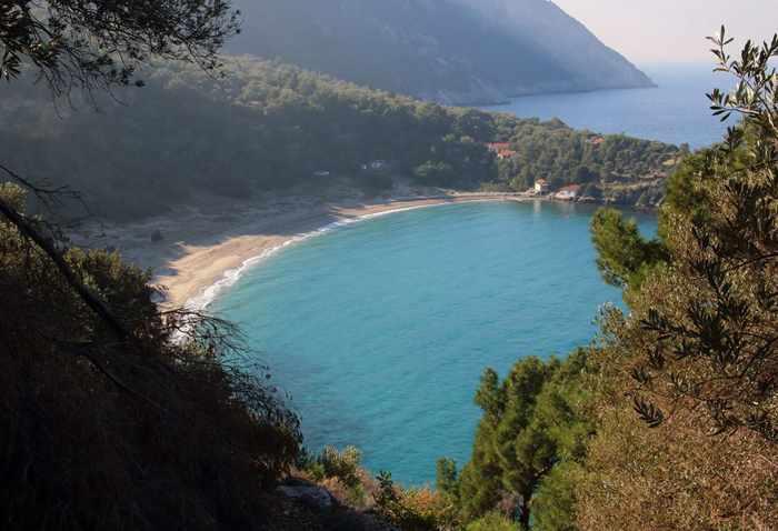 Steve Ewer photo of Megalo Seitani on Samos