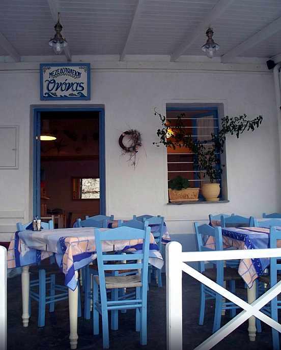 Mezedopoleio O Nonas in Andros Town