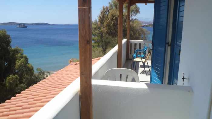 Mastrozannes Studios at Agia Marina beach Andros