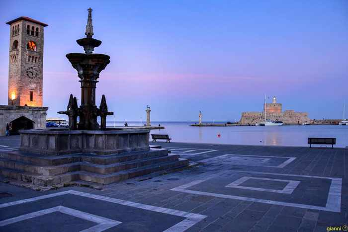 Giannis Farmakidis photo of Rhodes Town harbourfront
