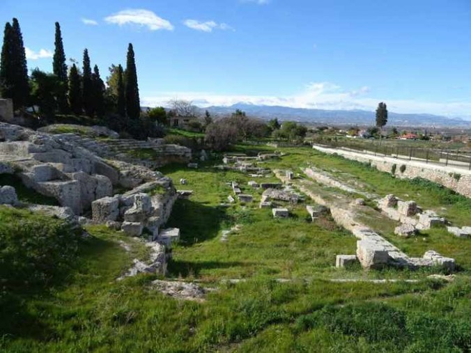 Roman Odeum at Ancient Corinth