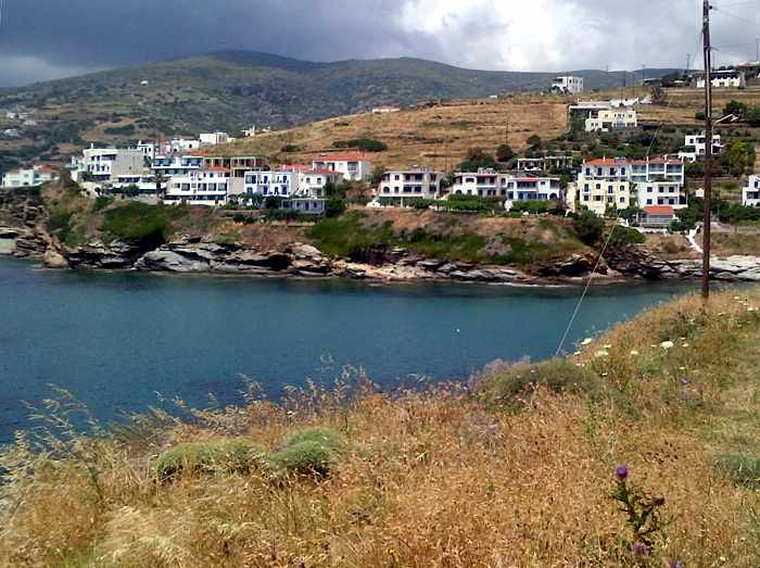 Stivari area of Andros