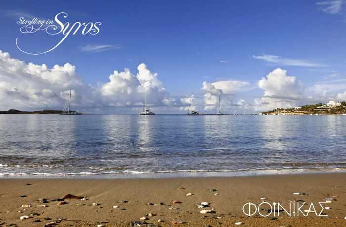 Strolling in Syros photo of Finikas beach