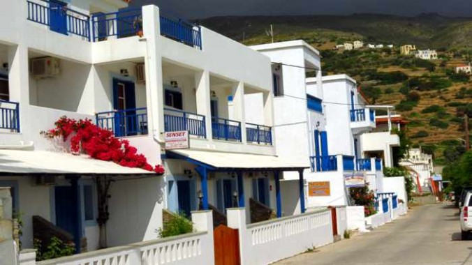 Stivari settlement on Andros