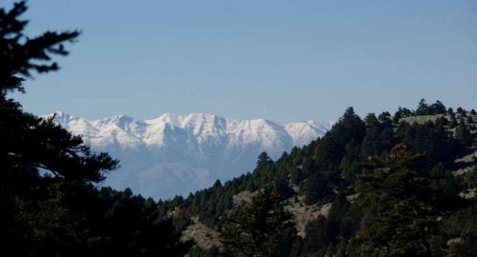 Taygetos mountain