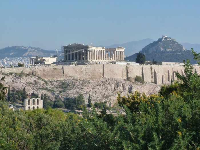 Wendy Gilops photo of the Acropolis