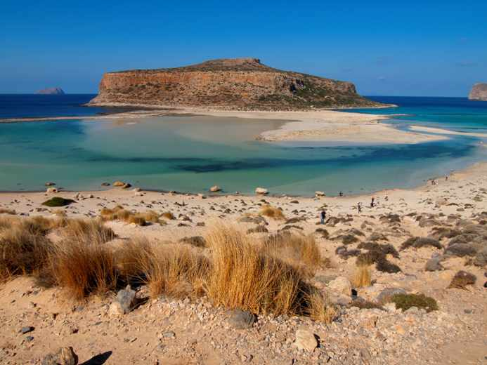 Balos lagoon and beach photo by Solo Traveler Blog