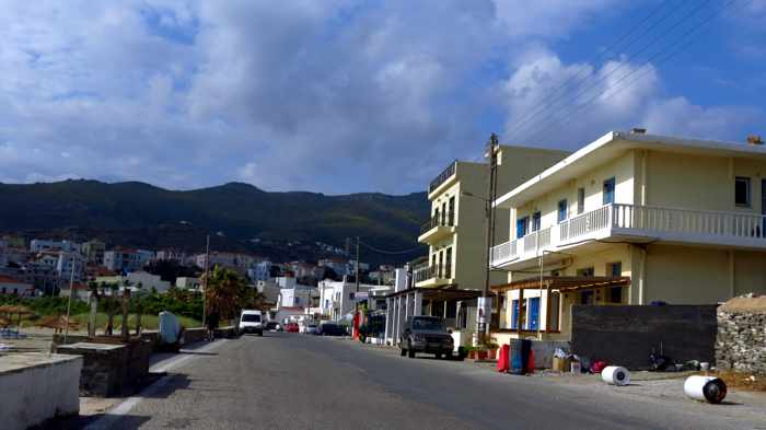 Archipelagos restaurant location Andros Town