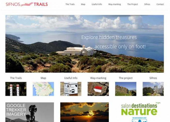 Sifnos Trails website