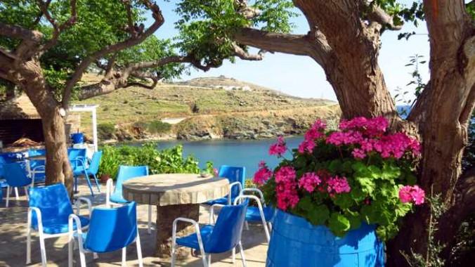 seaview terrace at Villa Pitsa & George