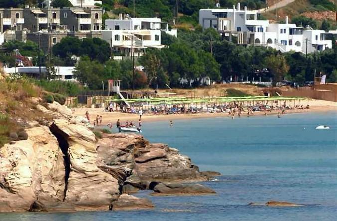 Agios Petros beach