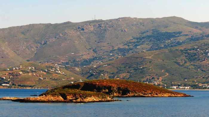 islet near Andros