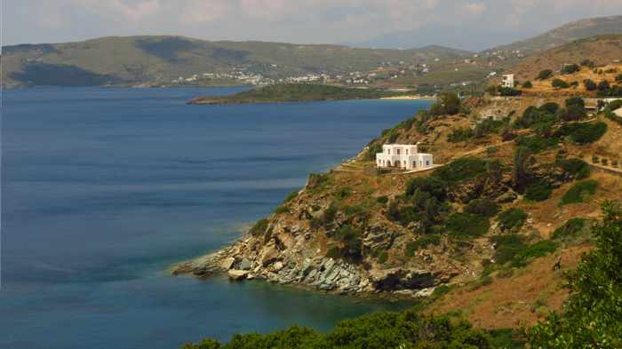 Andros west coast