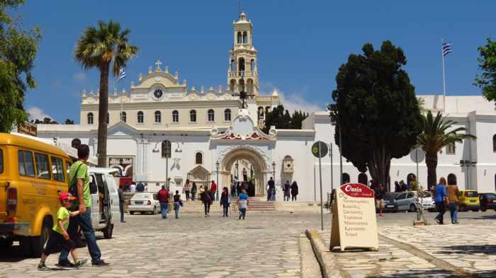 Church of Panayia Evangelistria on Tinos