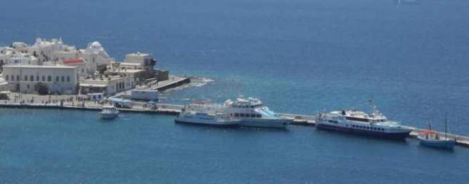 Delos Tours ferry fleet