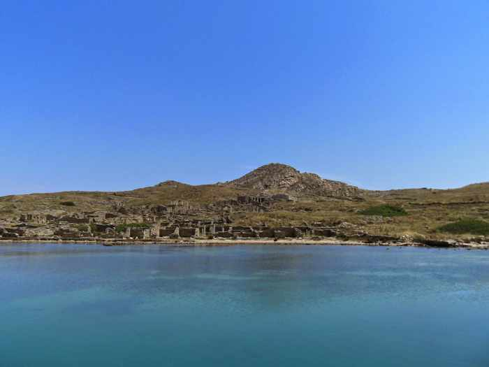 Delos island photo by Delos Tours