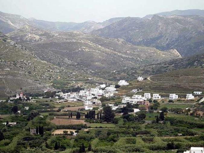 Eggares village on Naxos