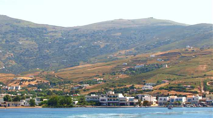 Gavrio port town