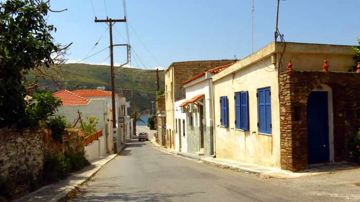 Gavrio village on Andros