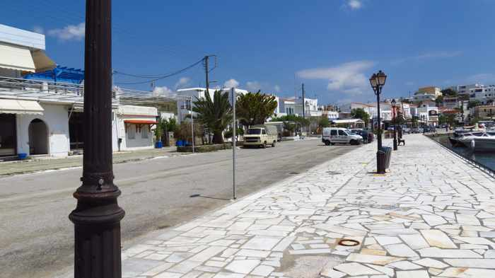 Gavrio waterfront