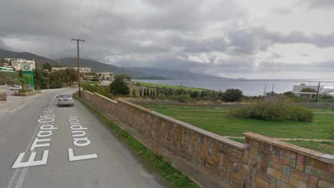 View from highway on outskirts of Gavrio Andros