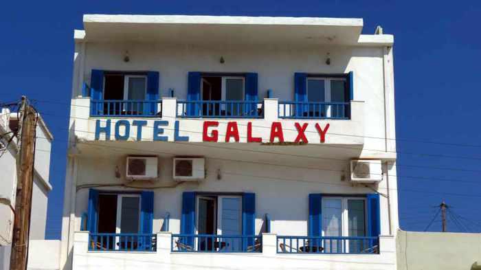 Hotel Galaxy in Gavrio