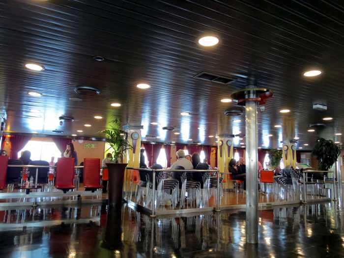 Superferry II interior