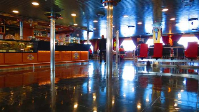 Superferry II cafe