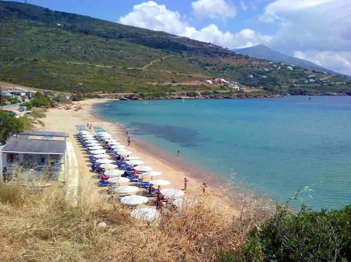 Kipri beach Andros