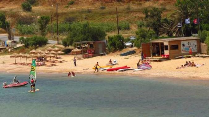 Kipri beach on Andros