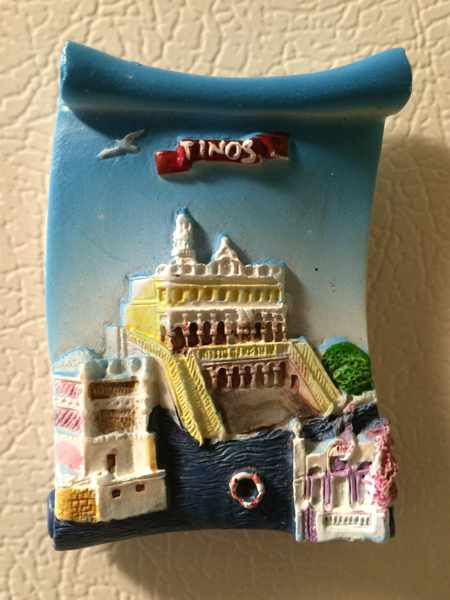 Tinos fridge magnet souvenir