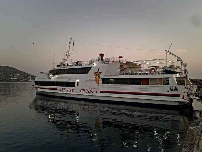 Naxos Star tour boat