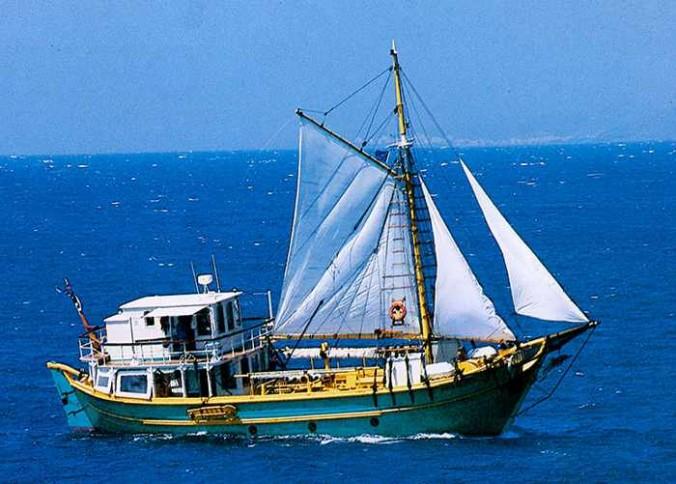 Phoebus charter yacht
