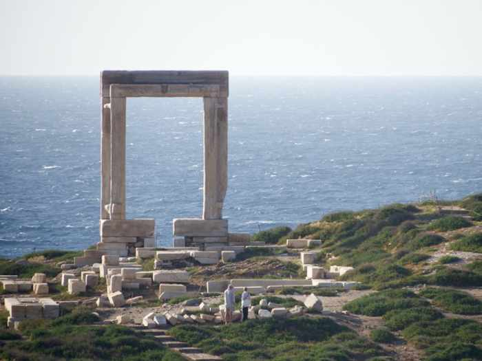 Mike Andrew photo of the Portara on Naxos