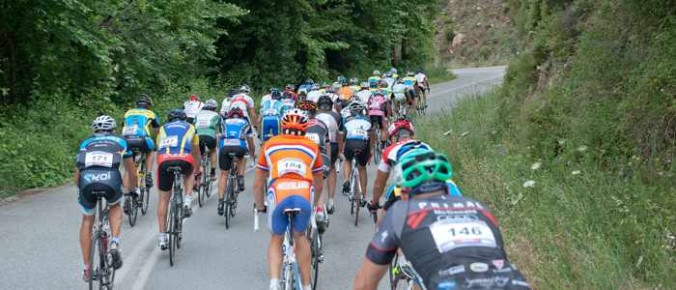 Race photo from the Skyros Cycling Challenge website