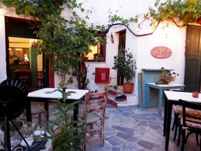 Mike Andrew photo of Labyrinth Wine Restaurant in Naxos