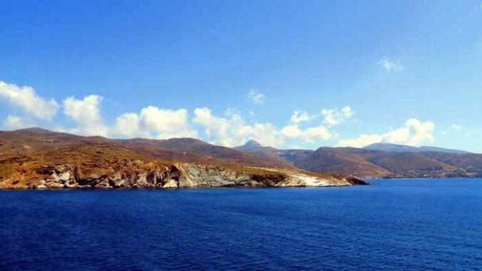 Tinos coast