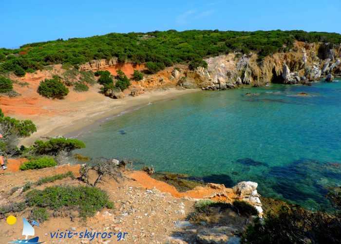 Theotokos beach on Skyros