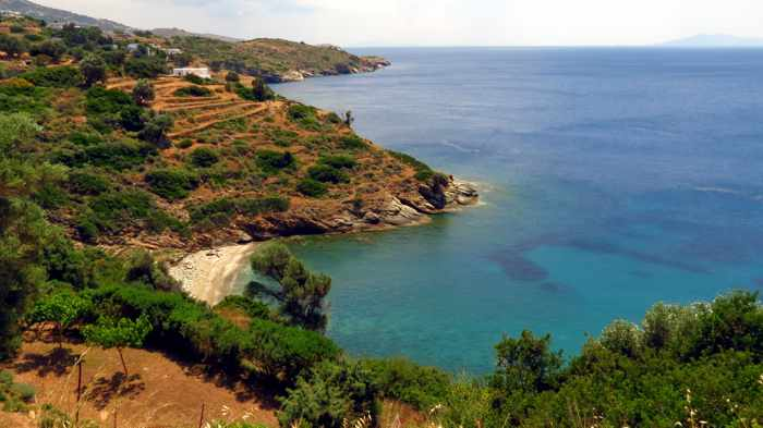 a cove between Batsi and Kipri