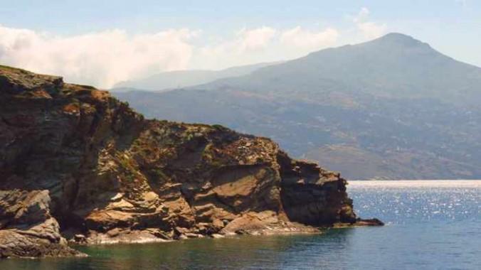 an islet near Andros