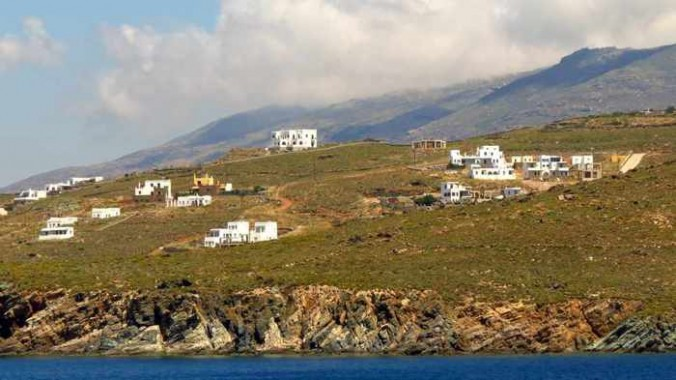 buildings on Tinos