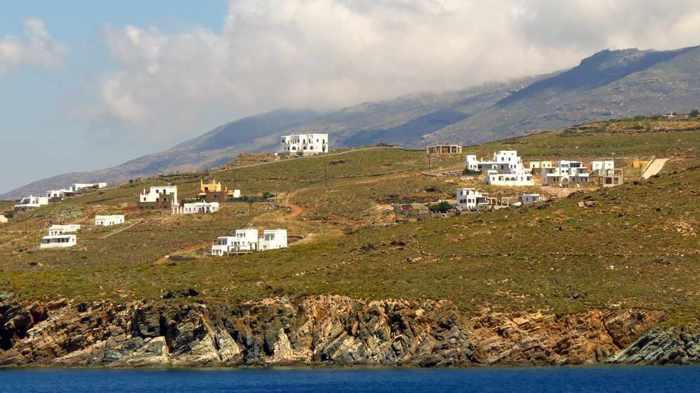 buildings on Tinos