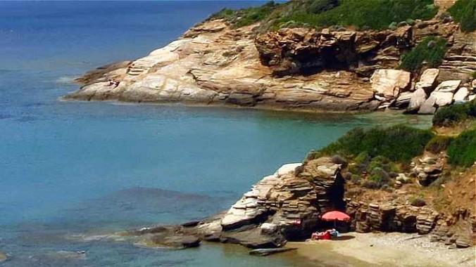 coast at Agios Kiprianos