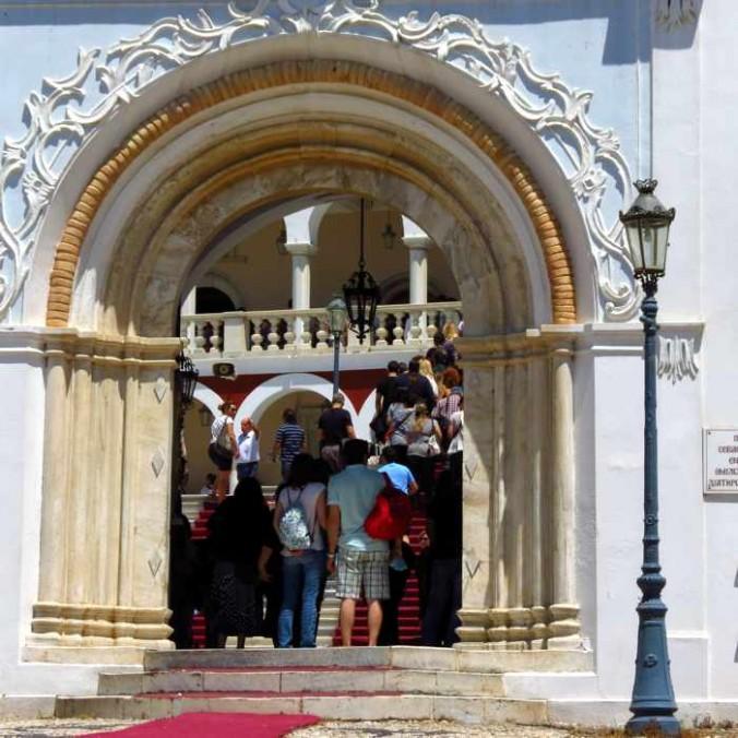 Church of Panagia Evaggelistria on Tinos