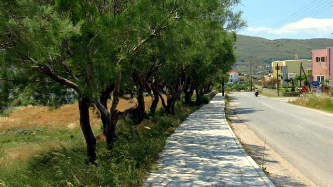 Outskirts of Gavrio village